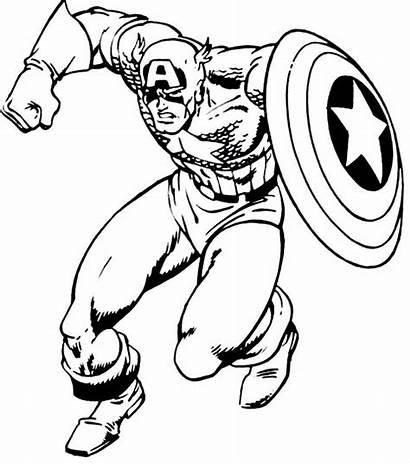 Mewarnai Captain America Belajar Belajarmewarnai