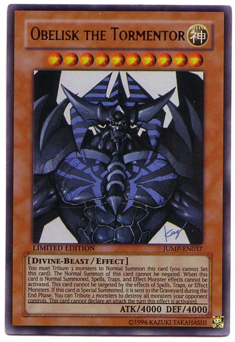 Obelisk The Tormentor Deck Build by Deck Divinit 224 Egizie