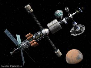 NSS Space Art Gallery - Mars Cycler