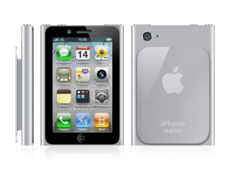 iphone nano apple iphone nano all that smaller screen concept