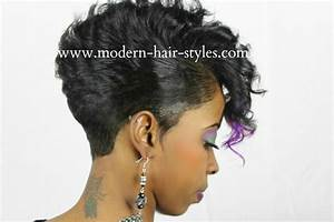 2018 Black Hair Styles, Black Hair Weave Styles Relaxed or Natural