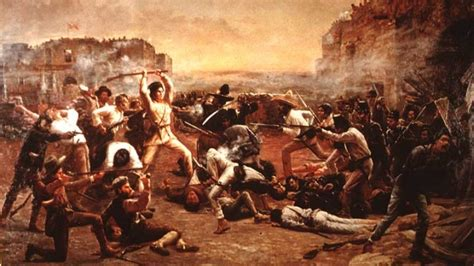the siege of the alamo 8 legendary battle cries history lists