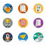 Business Strategy Icons Flaticon Flat Flaticons Circular