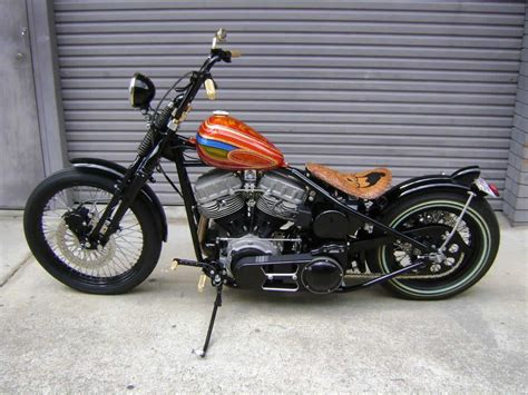 Harley Davidson Choppers Bobbers And Parts, New Old Stock