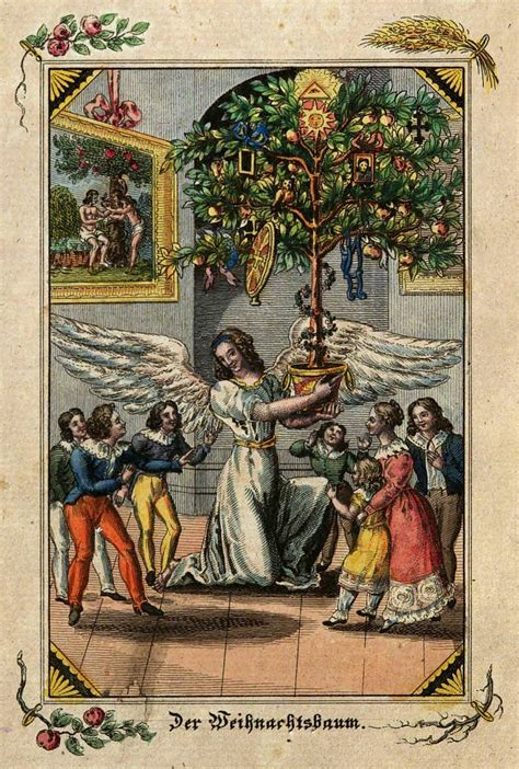 luthers christmas tree pre g 233 belin tarot history luther cranach and trees