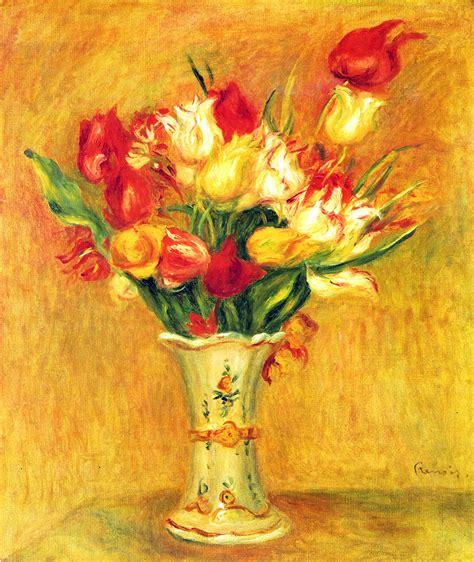 stampa tulipani   vaso su poster  quadri su misura