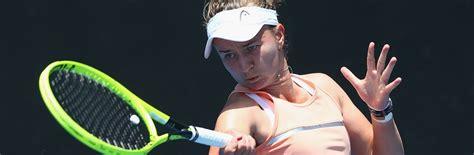 Krejcikova b / mertens e fixtures tab is showing last 100 tennis matches with statistics and win/lose icons. Krejcikova's juggling act | Australian Open