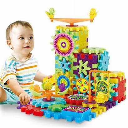 Toys Gears Building Plastic Funny Educational Blocks