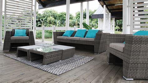canapé extérieur design salon jardin rotin exterieur mc immo