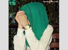 muslim girl with green hijab