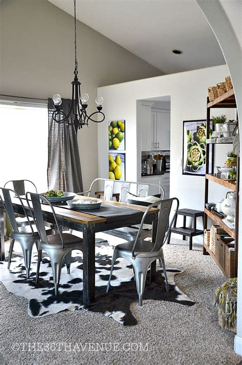 Dining Room Decor  Industrial Design  The 36th Avenue. Wholesale Rustic Home Decor. Lime Green Home Decor. Accent Tables For Living Room. Modern Nursery Decor. Bathroom Shelf Decorating Ideas. Room For Rent Hayward Ca. Living Room Shelving Ideas. Dining Room Table Round Seats 8