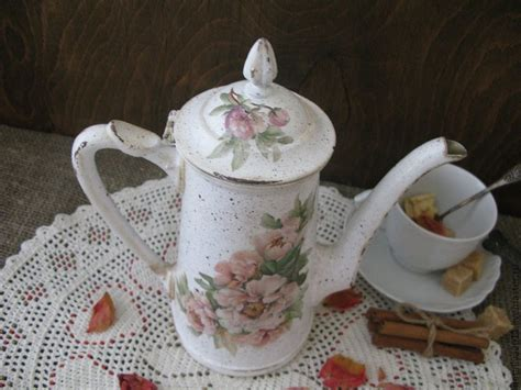 Peonies Coffee Pot Shop Online On Livemaster With