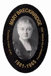 Notable Nurses | Mary Breckinridge