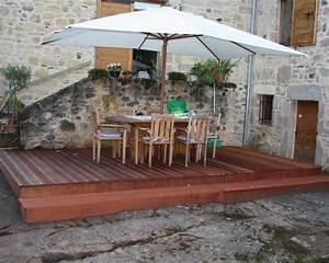 Caillebotis Pour Terrasse : terrasse en caillebotis l 39 habis ~ Premium-room.com Idées de Décoration