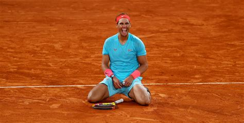 Nadal wins 13th French Open to claim record-equalling 20th ...