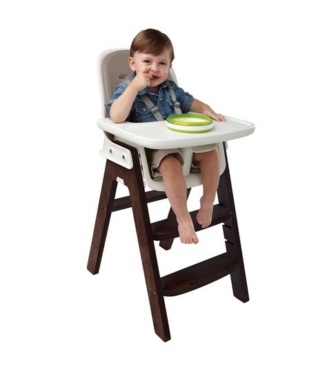 oxo tot sprout high chair in taupe walnut