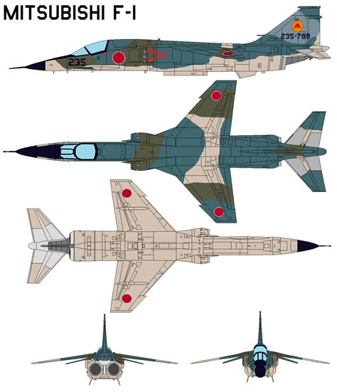 Mitsubishi F-1 By Bagera3005 On Deviantart