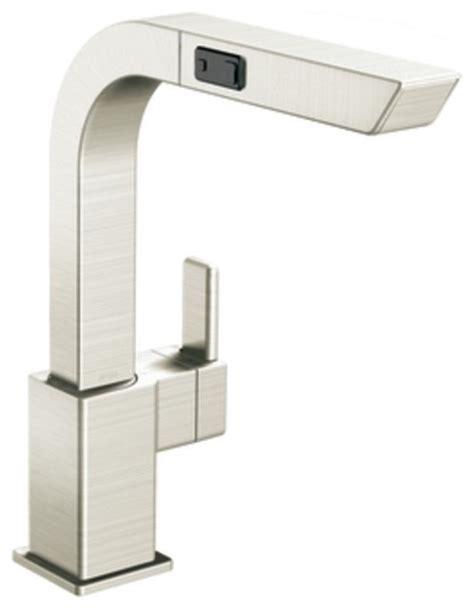 moen one handle pullout kitchen faucet moen s7597csl 90 degree single handle high arc pullout
