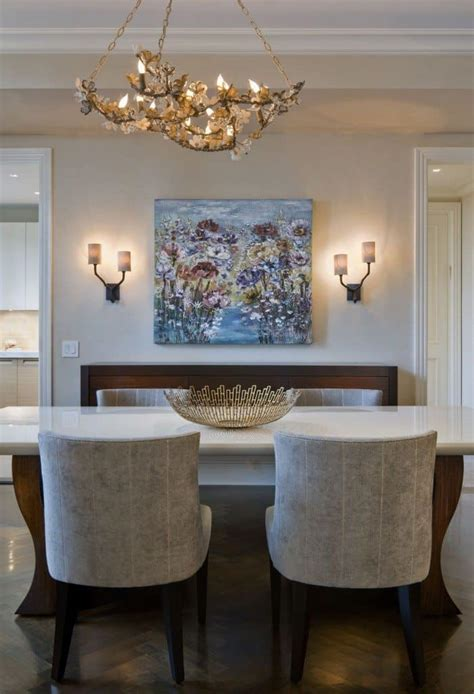 placing sconces   dining room wearefound home design