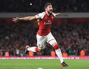 Olivier Giroud | Arsenal 25-man squad list confirmed for ...