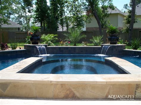 Aquascapes Pools by Custom Features Photo Gallery Aquascapes Pools Spas
