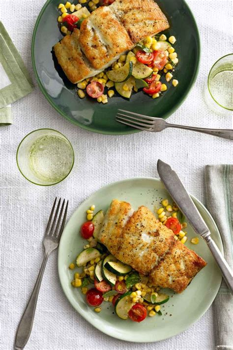 dinner sunday skillet recipes easy recipe grouper romantic countryliving dinners gemakkelijke tafel zet je iron cast gerechten minuten quick meal