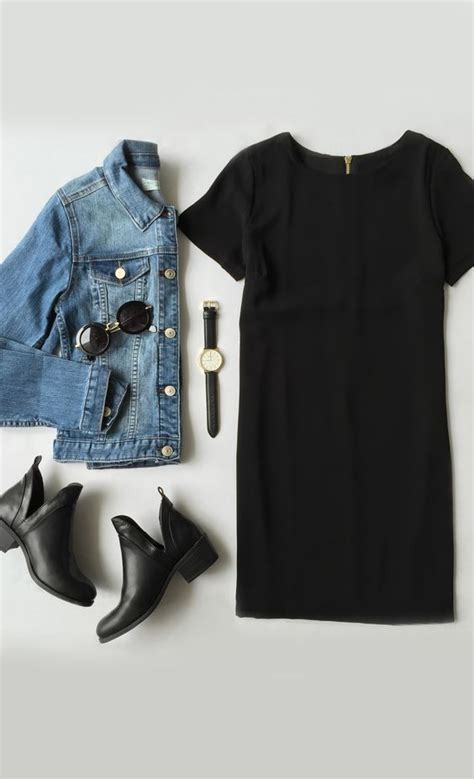 20 Cute Outfit Ideas with Black Dresses - Pretty Designs