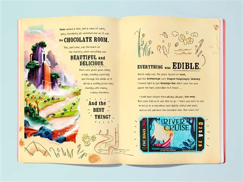 The Living Room Chocolate Recipe Book by Willy Wonka Book Offers A Personalized Adventure Through