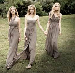 taupe bridesmaid dresses in taupe colored yoo bridesmaid dresses convertible dress to style 15 different
