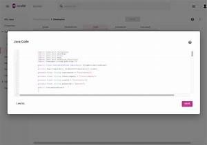 Java Code  Etl