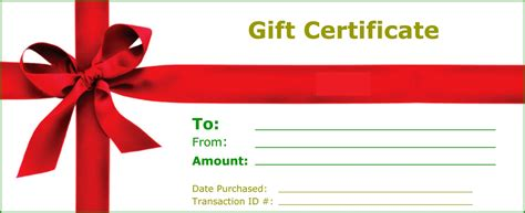 gift certificate templates  print activity shelter