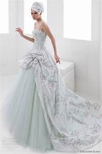 wedding dress pastel colors With pastel color dress for wedding