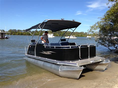 Party Cat Pontoon Boat by Custom Pontoon Party Boat Www Pixshark Images