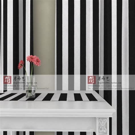 ls cl 013 5 5 black white stripe canvas curtain balcony
