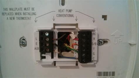 Hvac Heat Pump Air Conditioning Wiring Thermostat