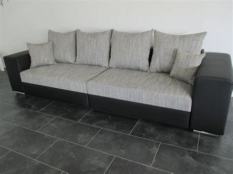 Tiefe Couch Wohnkultur Sofa Exit 295x200 Cm Weiss