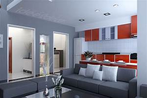 deco maison gris et rouge exemples d39amenagements With deco maison rouge et gris
