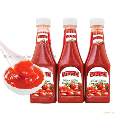 340g tomato ketchup in pladtic bottle for africa market ...
