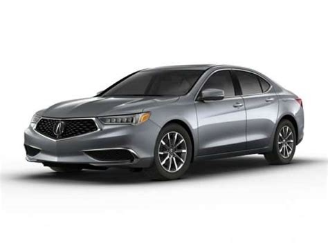 acura tlx models trims information  details