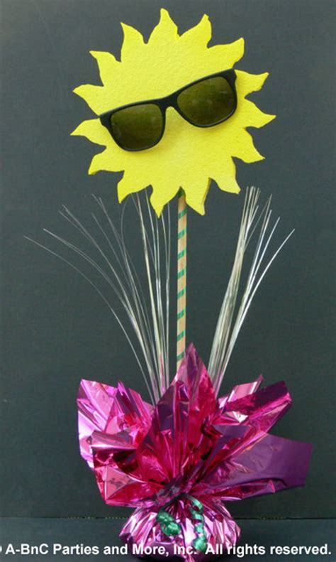 sun diy diy cheap easy to assemble just add sand centerpiece kits party planning and consulting