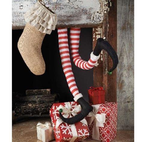 mud pie christmas santa claus or elf s legs fun holiday