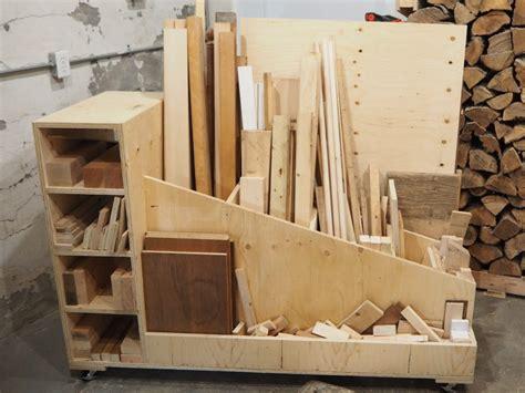 ultimate lumber storage cart  plans diy montreal
