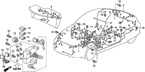 2002 honda insight wiring diagram and electrical cable harness