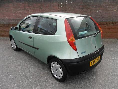 fiat punto 2001 used fiat punto 2001 petrol 1 2 mia 3dr xx hatchback green