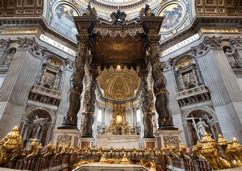 Baldacchino Bernini by Baldacchino Di San Pietro Arte Opere Artisti