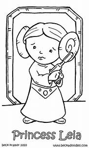 Princess Leia Lego Coloring Pages Coloring Pages