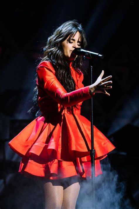Boston December Camila Cabello Performs Onstage