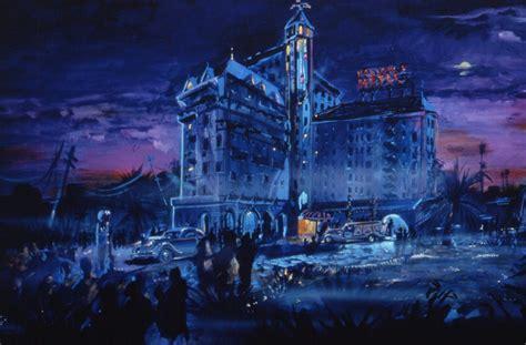 wdwthemeparkscom  twilight zone tower  terror  concept art