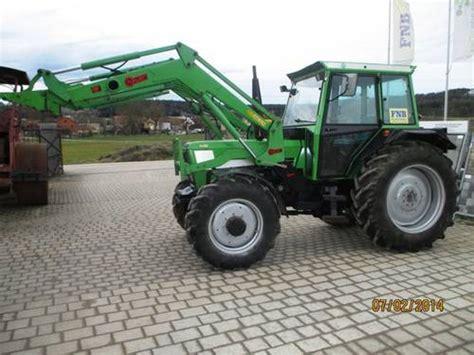 traktor mit frontlader gebraucht traktor deutz 7807c gebraucht