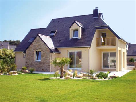 modele cuisine surface maison bretonne dé du plan de maison bretonne